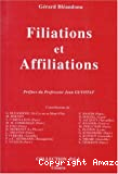 Filiations et affiliations