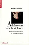 Adolescents dans la violence. Médiations éducatives et soins psychiques